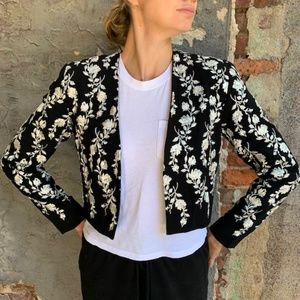 Nicole Miller Embroidered Jacket